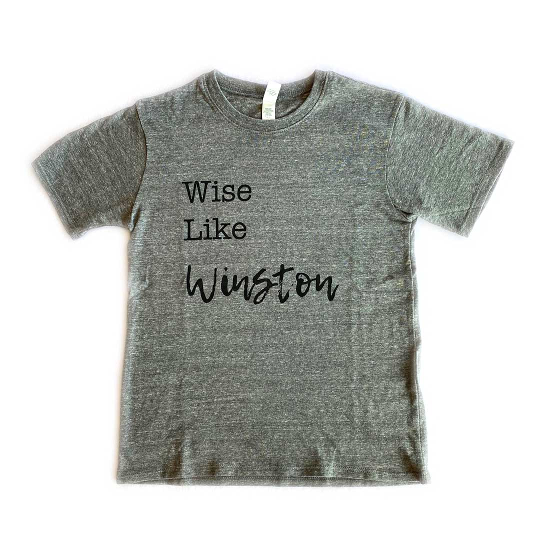 Wise Like Winston Tee – Toddler/Youth
