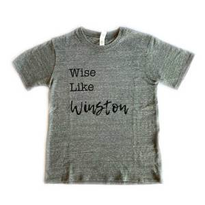 Wise Like Winston Kids Tshirt