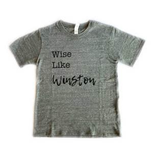 Wise Like Winston Kids Tshirt