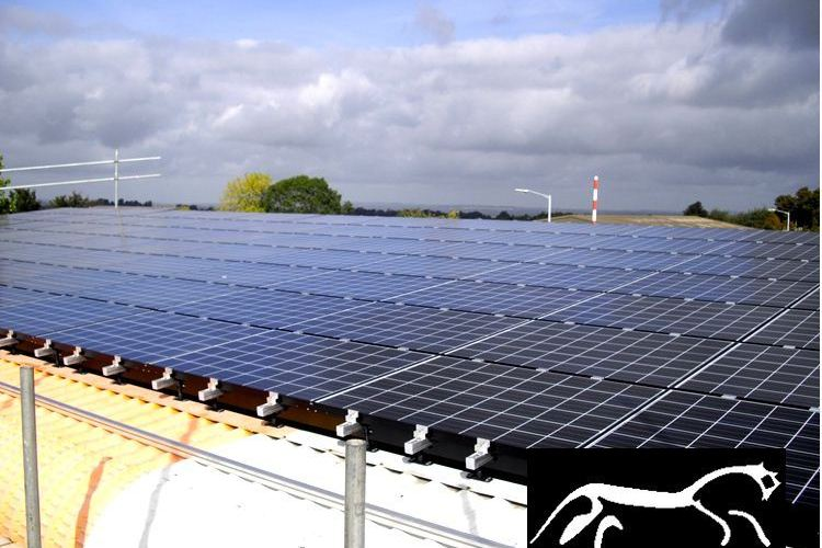 Cavity Trays Production Uses Photovoltaic Panel Power 2