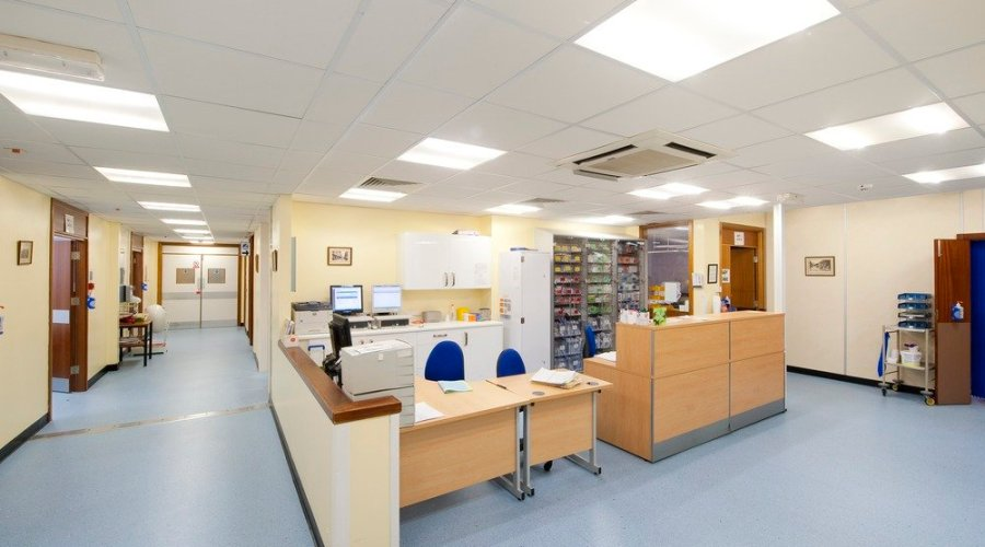 MHA Lighting helps slash hospital infection rates with new fully sealed lighting