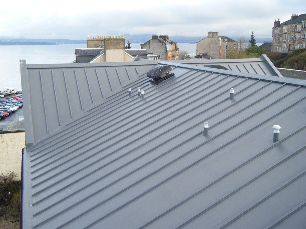 Wind Battered Building S Costly Insurance Claims For Roof