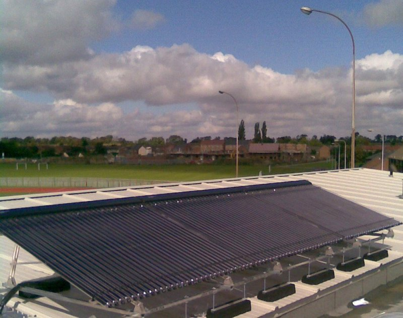 Kingspan Renewables Solar Thermal Collectors Give Athletes A Sporting Chance To Reduce Emissions