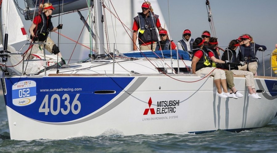 Mitsubishi Maidens enjoy sailing success despite the drag