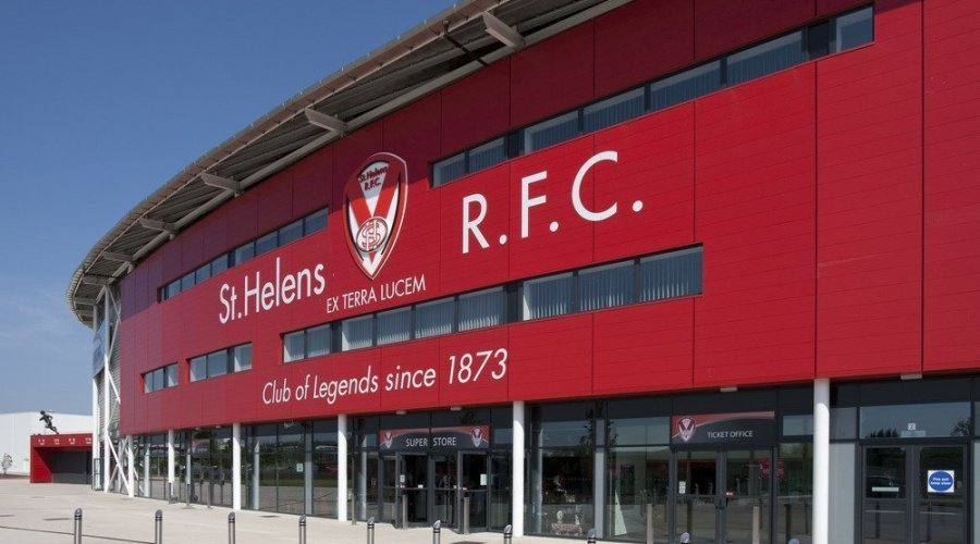 St.Helens R.F.C. has specified Franke Washroom Systems in a fit out of men's washrooms.