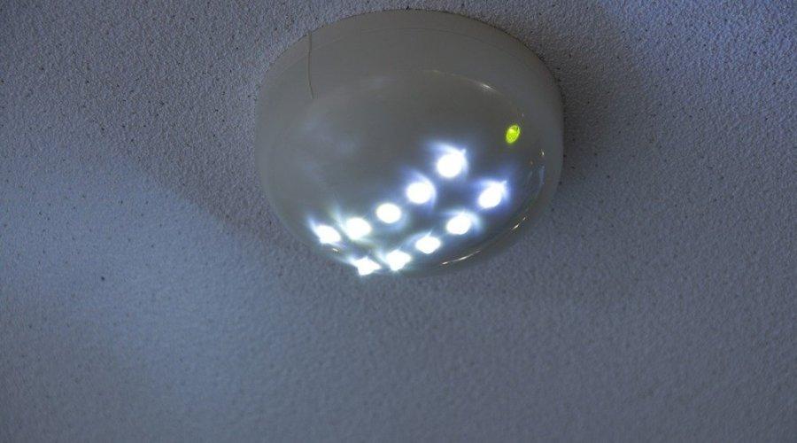 Energy efficient LED emergency lighting serves a dual purpose