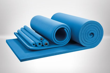 Armaflex Ultima foamed rubber tubes and sheets from Armacell UK Ltd, used to insulate pipes and ductwork.