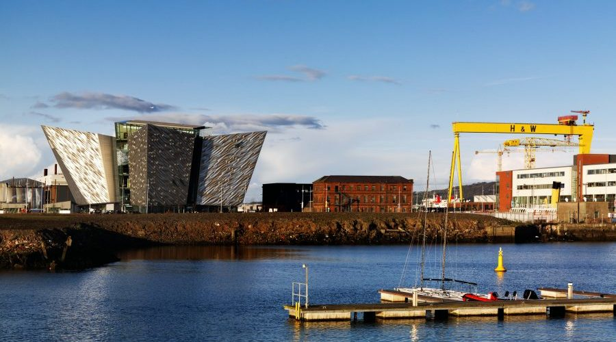 Titanic visitor centre, Belfast