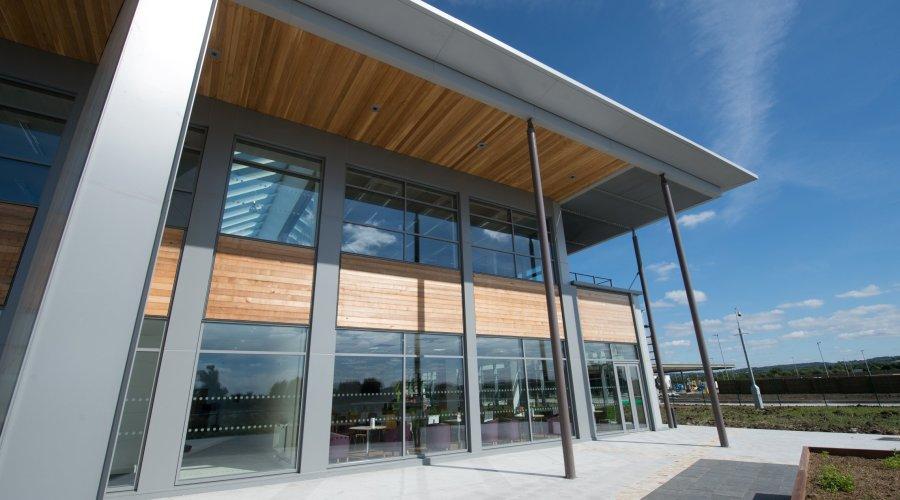 Stunning cedar panels chosen for new dairy
