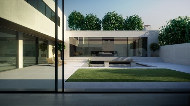 large sliding door system