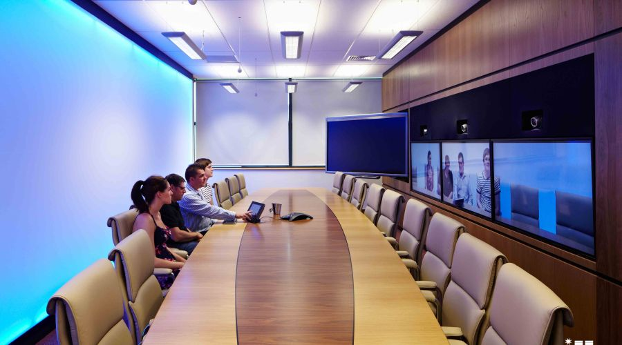 Sun-Light Solutions transforms the 3M Buckley Innovation Centre's TelePresence Suite.