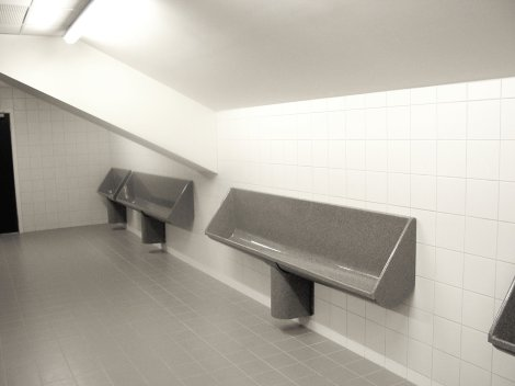 GTS Urinal Trough from Franke Washroom Systems