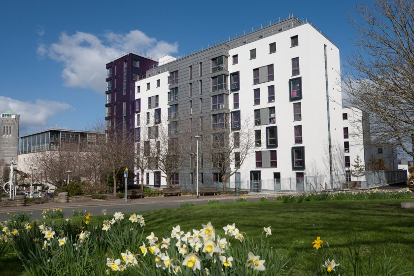 Nvelope keeps new student housing watertight in Plymouth