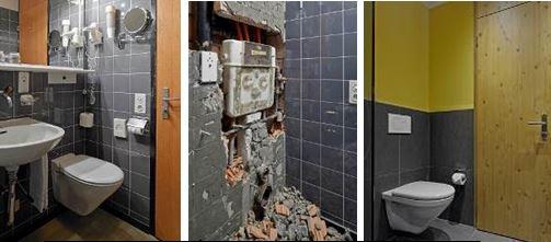 Geberit concealed cistern