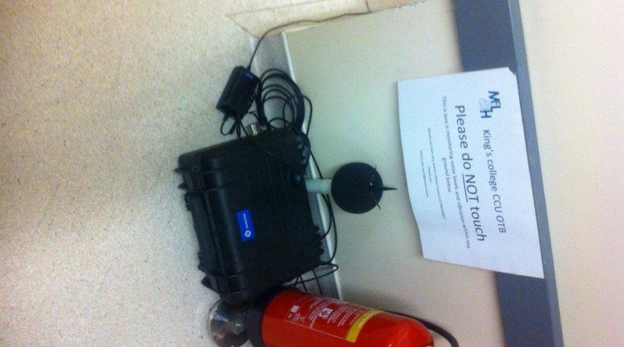 Svantek offers 24-hour noise & vibration monitoring at Kings College Hospital construction site