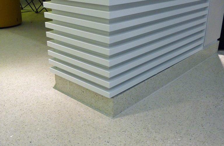Diespeker: specialist skills in resin based terrazzo for student campus