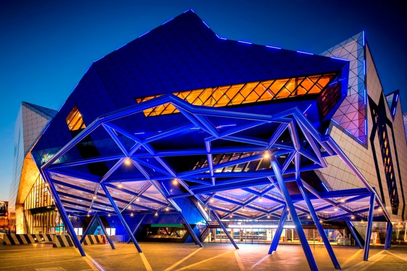 Perth Arena takes to the world stage featuring Reynaers architectural systems throughout
