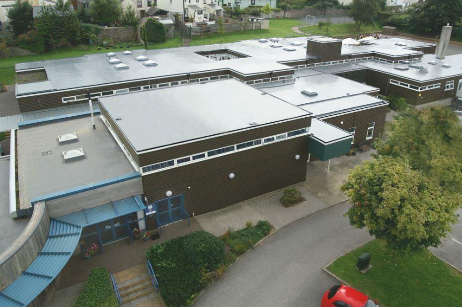 Sika Liquid Plastics Helps Academy Secure Roof