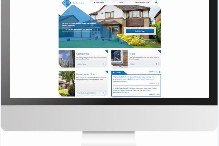 The VEKA UK Group unveils innovative new website
