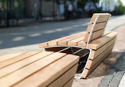 The Cado Corpus Range of External Seating By Bailey Streetscene