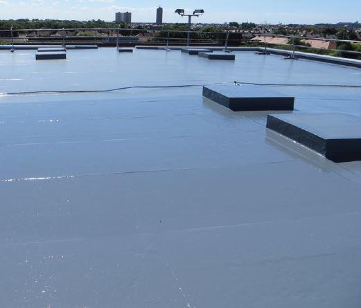 Elastaseal Warm Roof System Application