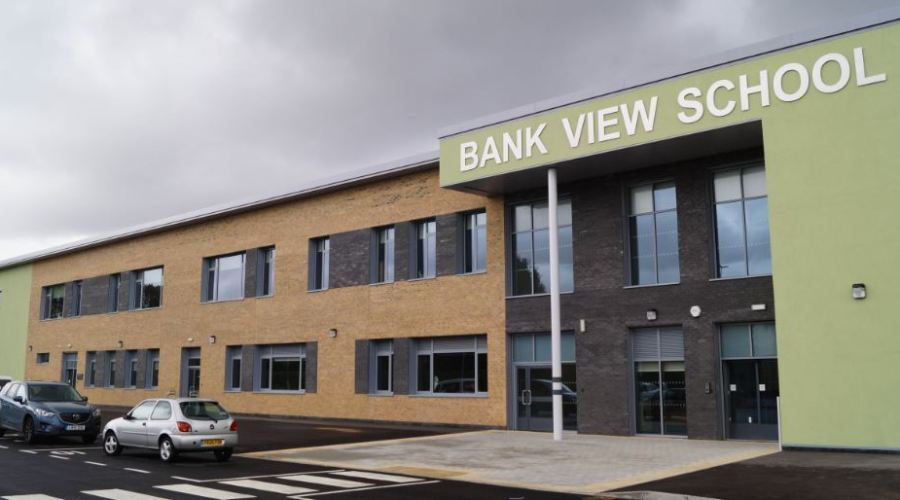 Total Glass aluminium fenestration products used in two new special schools