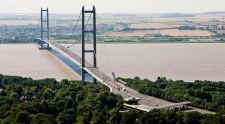 Morley-IAS crosses the divide at the Humber Bridge
