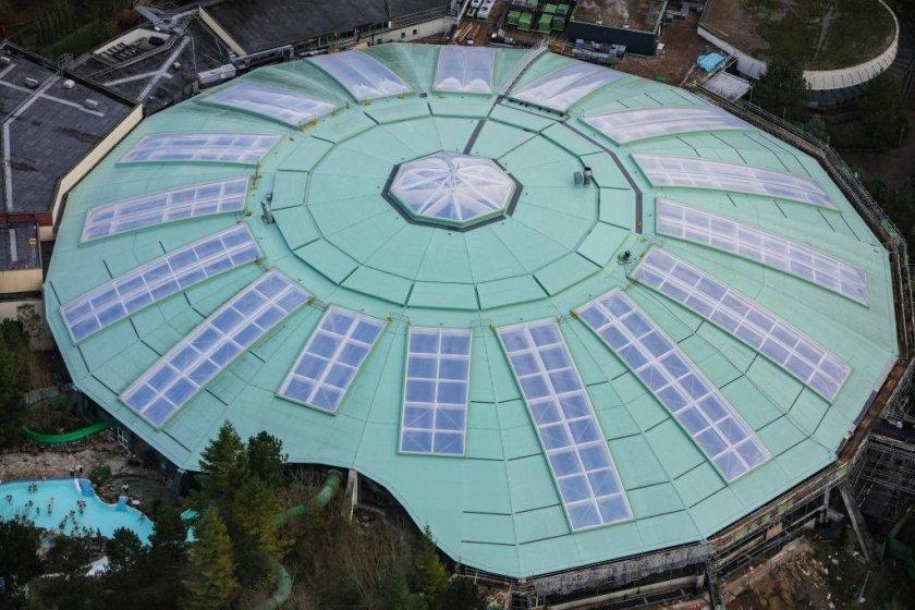 Dome refurb complete