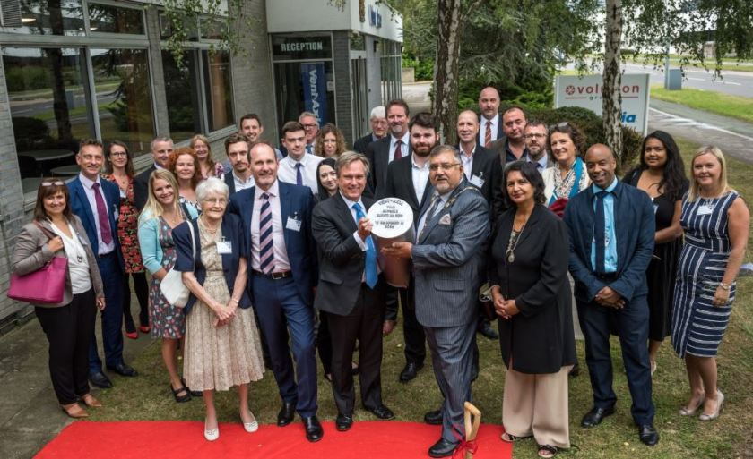 Vent-Axia Celebrates 80 Years of Innovation as its headquarters in Crawley, West Sussex.