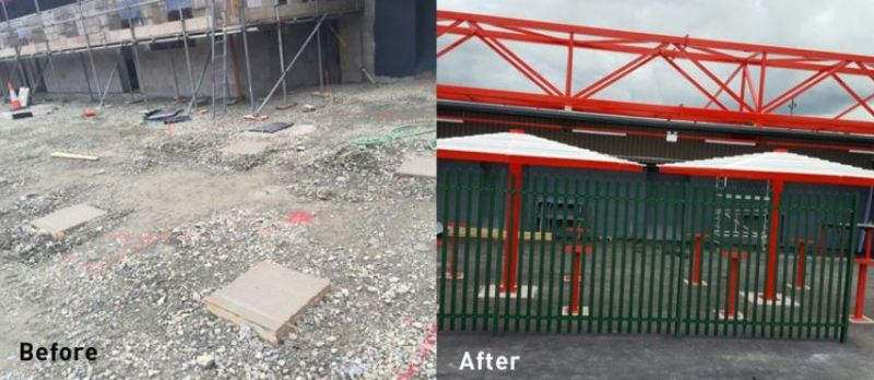 Putting fans firmly at the top of Accrington Stanley FC's fixture list with Canopies UK