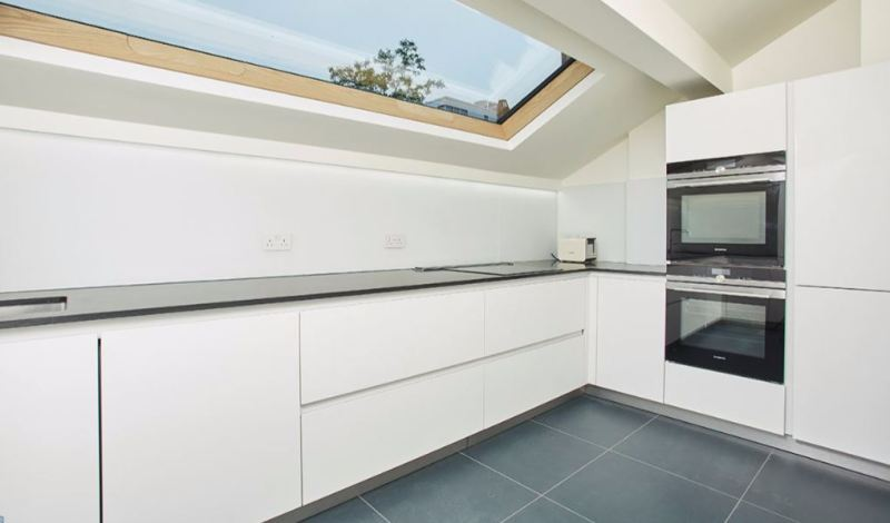 Bespoke Lumen Rooflights help transform modest traditional London apartment into a luxurious modernist home