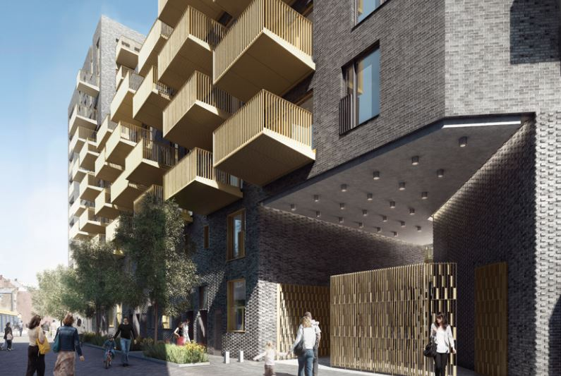 On this scheme, the balconies are an unusually demanding 2.3m in depth
