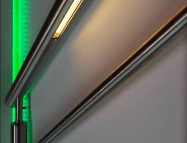 Neaco balustrade available with integral LED lighting