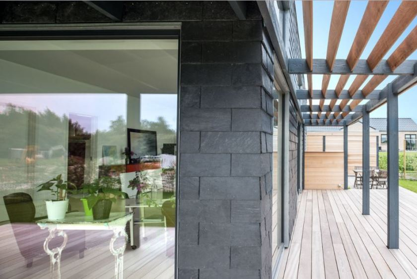 natural slate rainscreen cladding