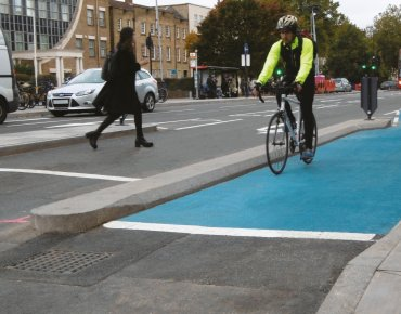Cycle Kerb Segregation System
