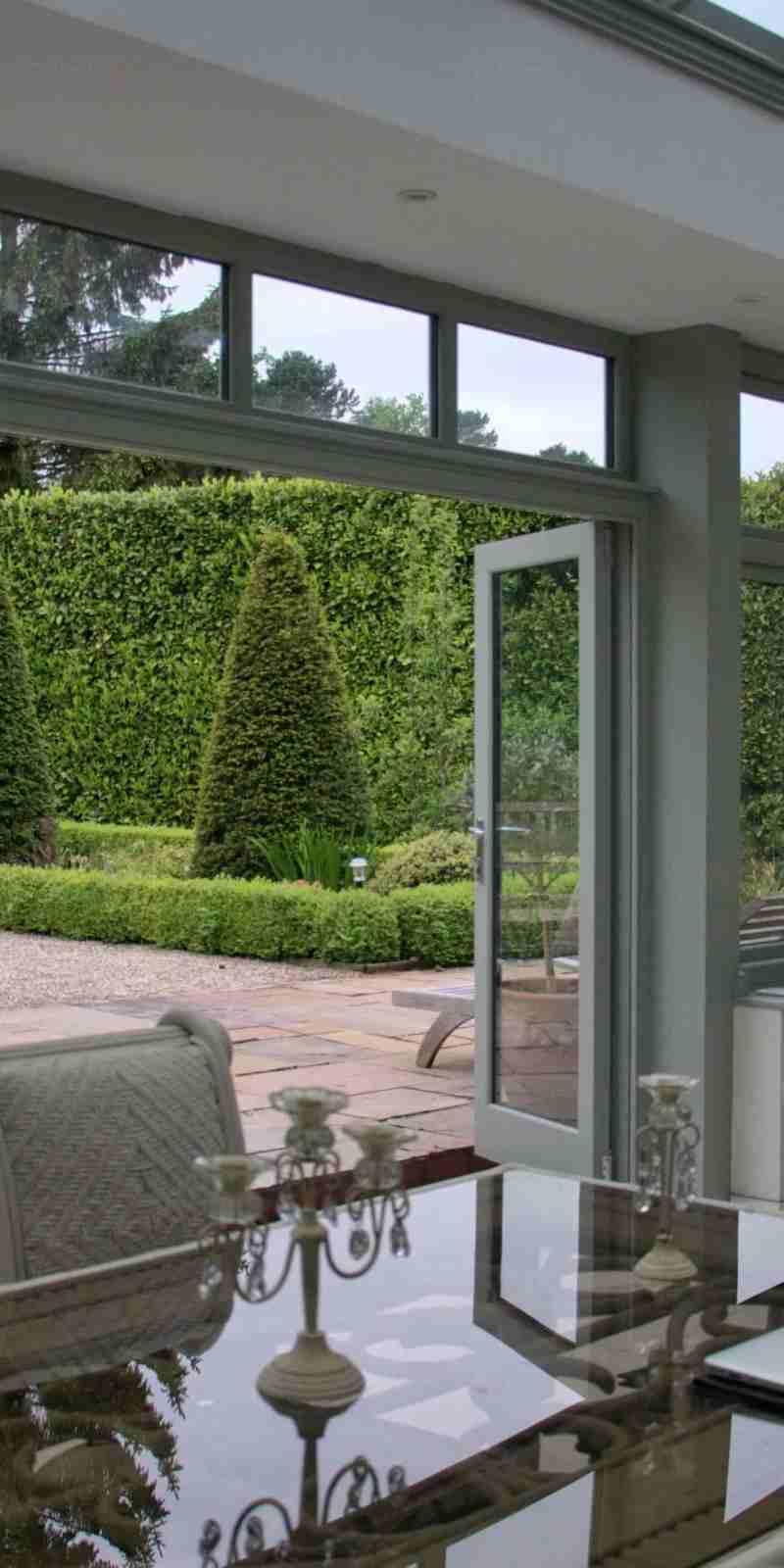 Accoya® chosen as the ideal wood for an Orangery in Birmingham