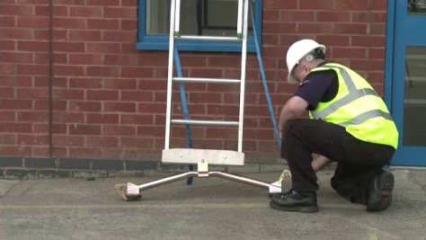 Easi-Dec ladder safety