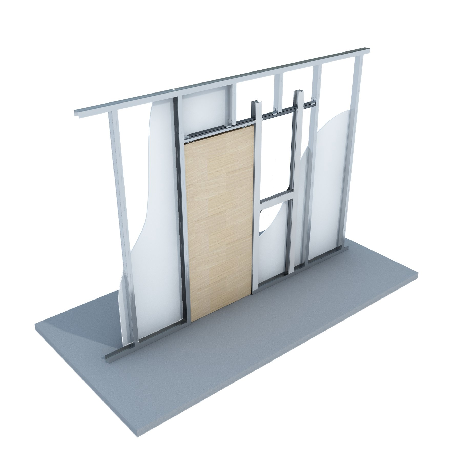 It S Unpack And Go With The New Knauf Sliding Door Kit
