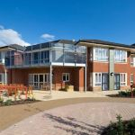 Neaco balustrade specified for 'gold standard' care home
