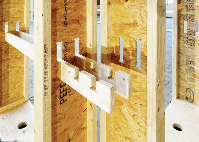 Si Modular Sustainable Building System With Timber I Beams
