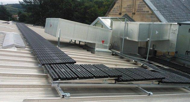 Do you need a roof walkway?