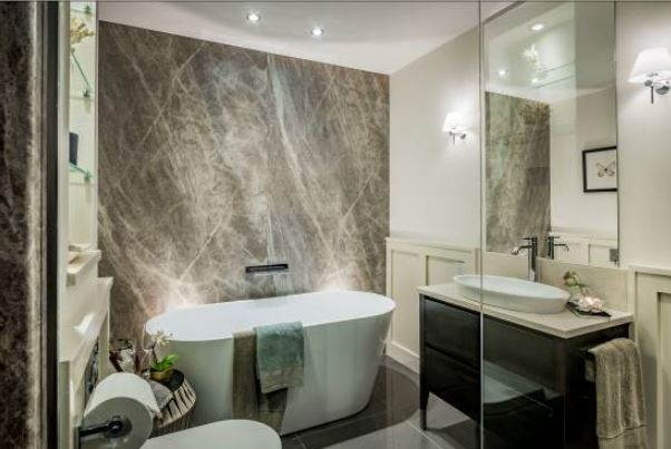 Stunning Apartments Choose Bushboard Bathroom Wall Panelling 1