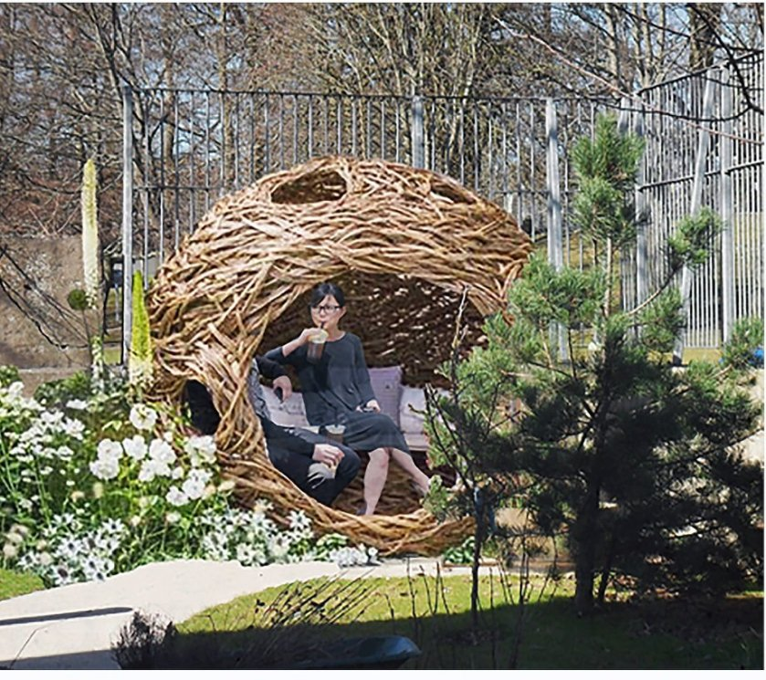 RGU students design therapeutic landscape and active spaces with CLAN and Transition Extreme 1