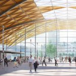 HS2's vision for Curzon Street Station features urban realm design by Grant Associates
