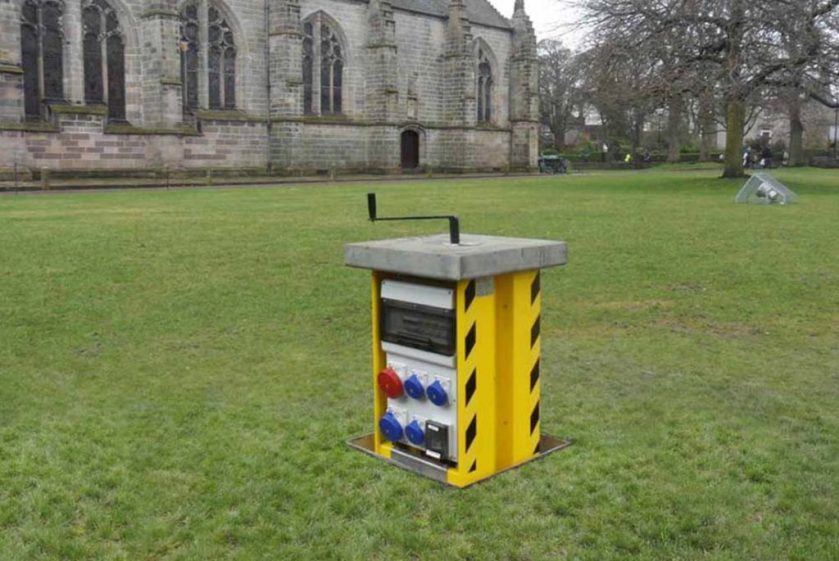 Innovative outdoor power solutions for Universities