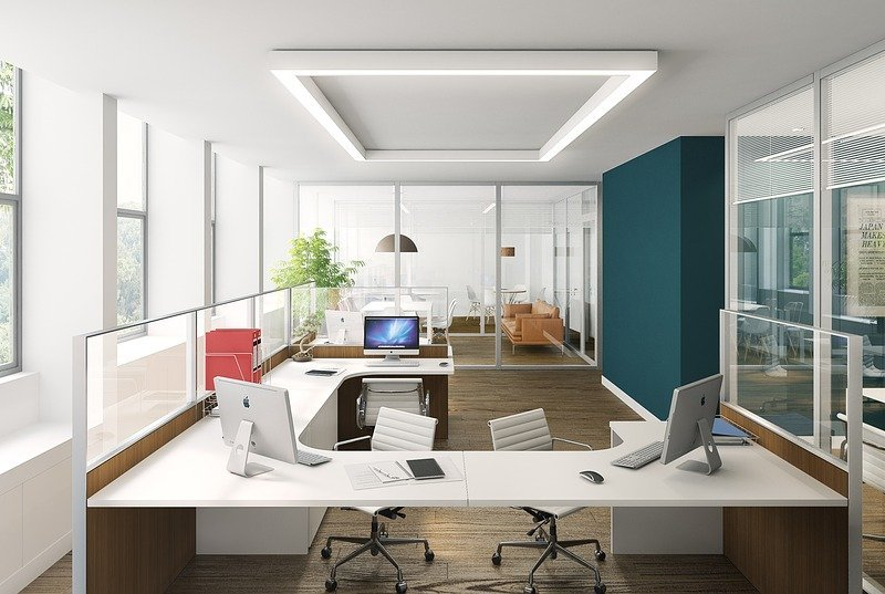 Controlling comfort in an open plan office