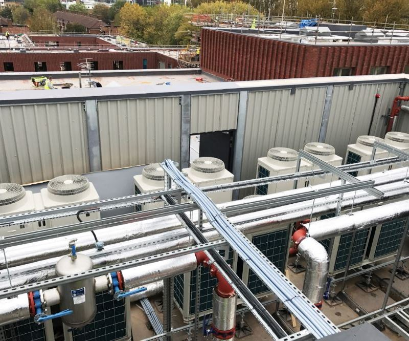 Manchester community heating scheme meets environmental and budget targets with Ecodan