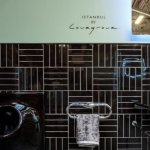 Minimalist Vanity Basin, WC & Electronic-Flush Urinal for Istanbul