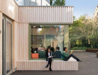 Sarah Wigglesworth Architects extend Kingsgate Primary School through creative collaboration