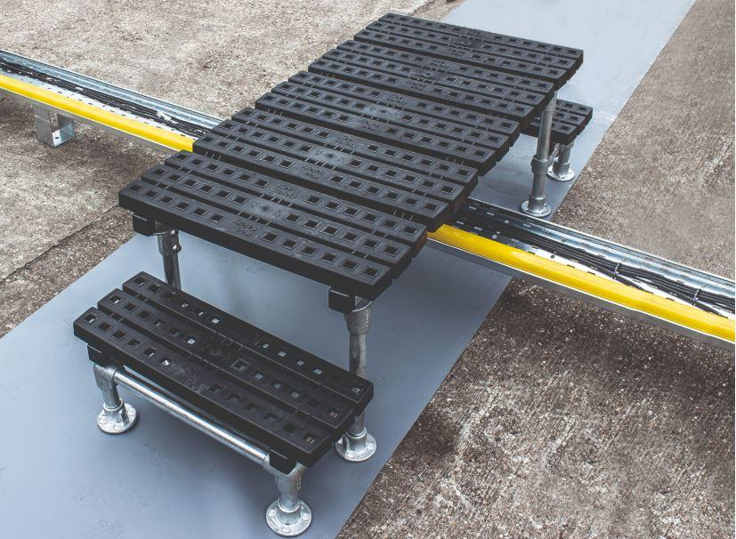 Step-Over Access Platforms